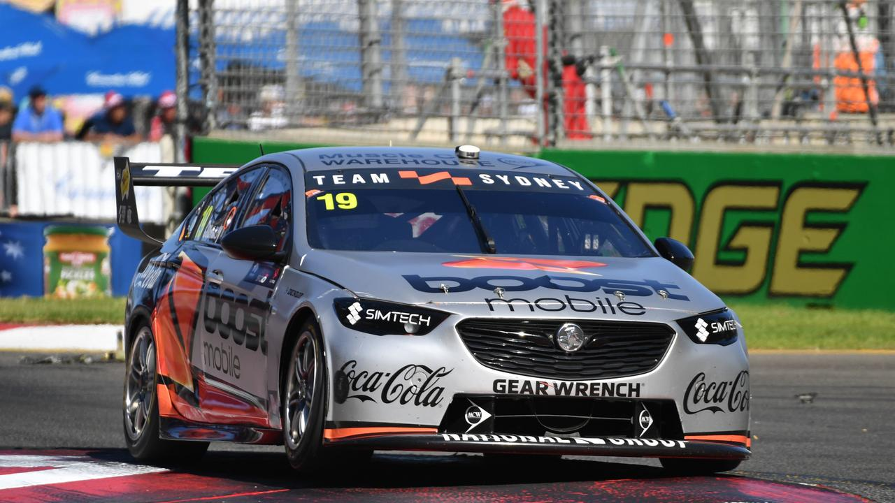James Courtney left Team Sydney after Round 1, and now he's found himself in a Ford.
