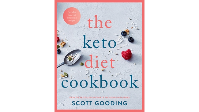 The Keto Diet Cookbook by Scott Gooding photographs by Guy Bailey is published by Hachette Australia. Out now. $29.99.