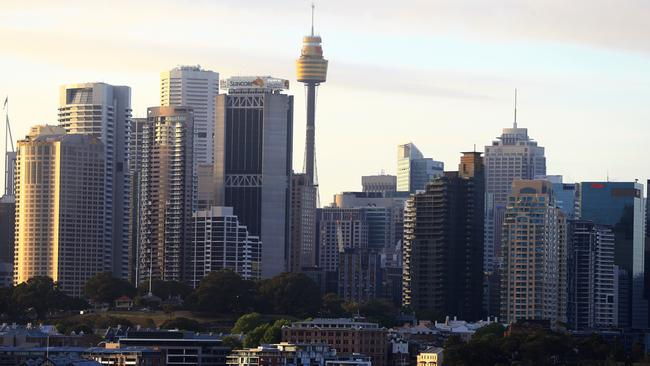 Sydney Tower is the second tallest observation tower in the Southern Hemisphere. Picture: Jenny Evans
