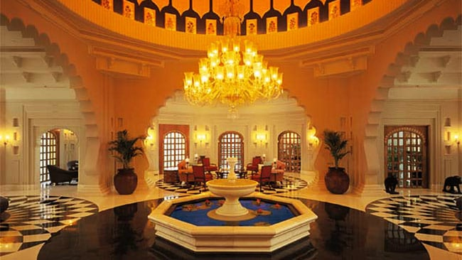 Oberoi Udaivilas. Picture: Supplied