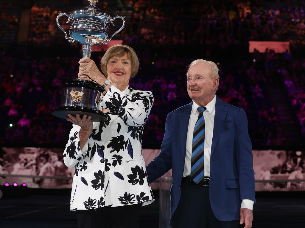 Court and Laver have both been honoured with the Companion of the Order of Australia.