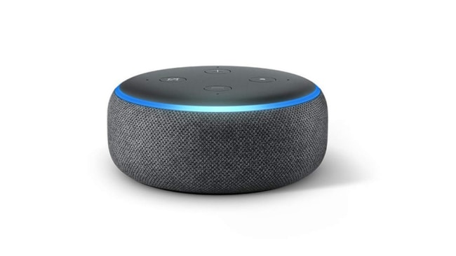 Echo Dot Smart Speaker ($36 at Amazon).