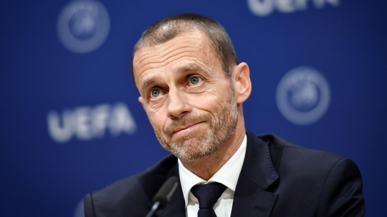 UEFA president Aleksander Ceferin clearly isn't confident about the European season going ahead.
