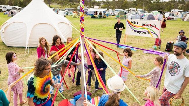 The Cobargo Folk Festival happens each year.