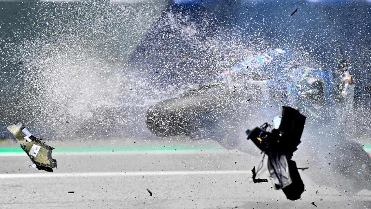 There was utter chaos at the Red Bull Ring in Austria after TWO sickening crashes in MotoGP and Moto2.