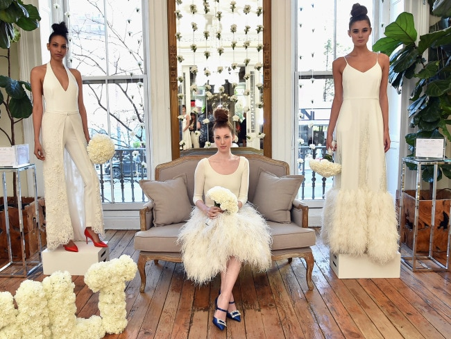 Sarah Jessica Parker Debuts New Line Of Wedding Dresses Sjp Bridal