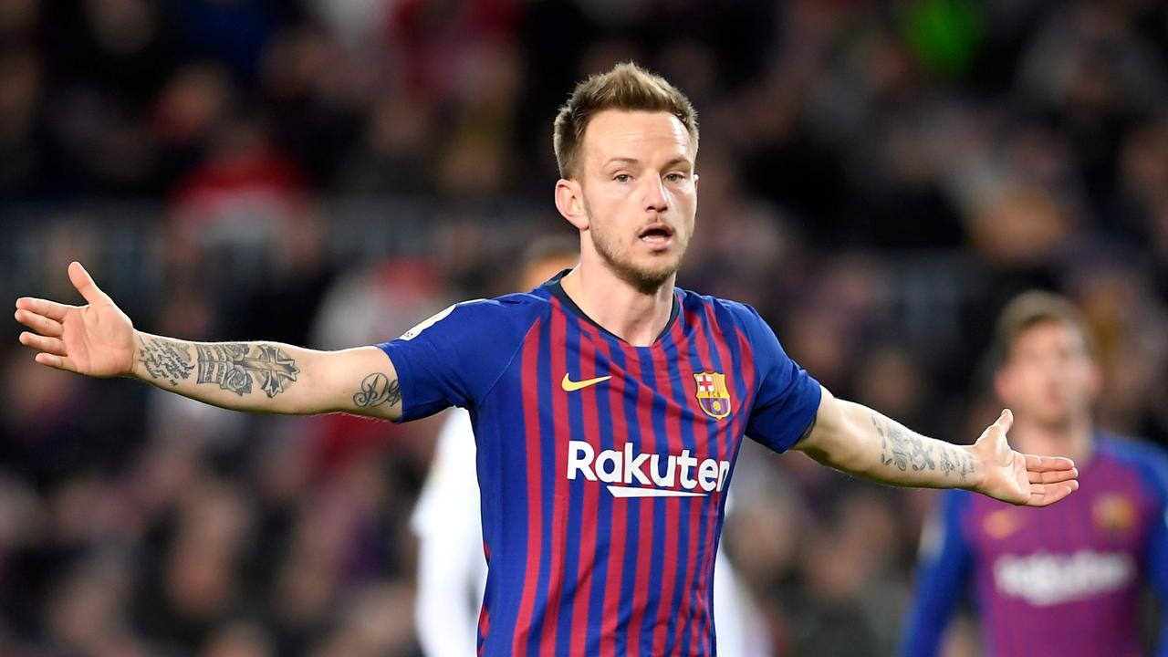 4af83ab183c Manchester United and Chelsea are just two of the big European clubs  monitoring Ivan Rakitic s situation