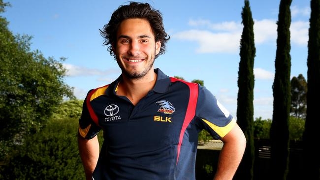 New Crows recruit Troy Menzel will wear No. 32 next season.