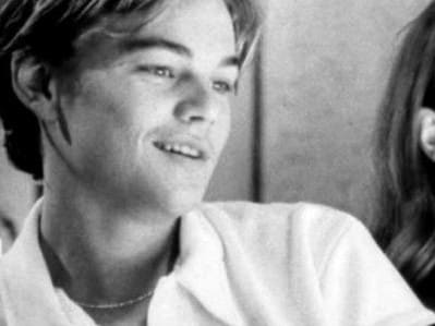 A still from Don's Plum starring Leonardo DiCaprio.