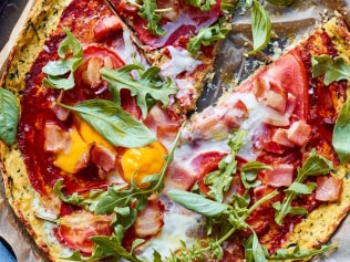 World, meet Luke Hines' 'Perfect Pizza'. Image: Smart Carbs.