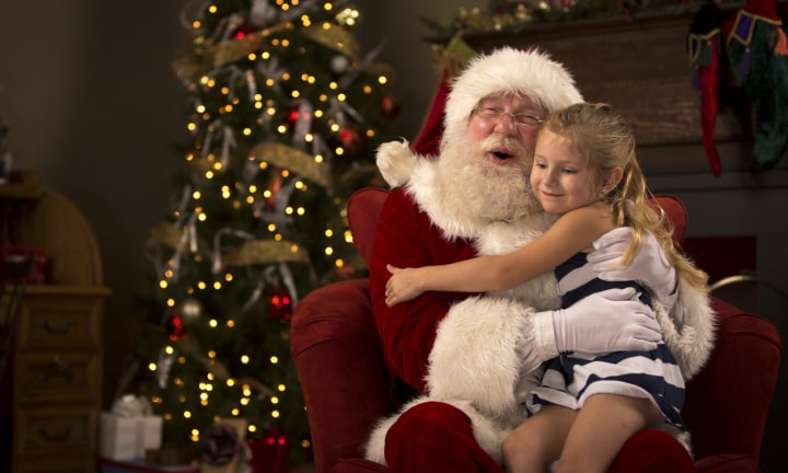 'My husband's ex won't let me take their child for Santa photos'