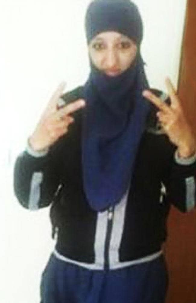 Police believe female bomber Hasna Ait Boulahacen was part of a