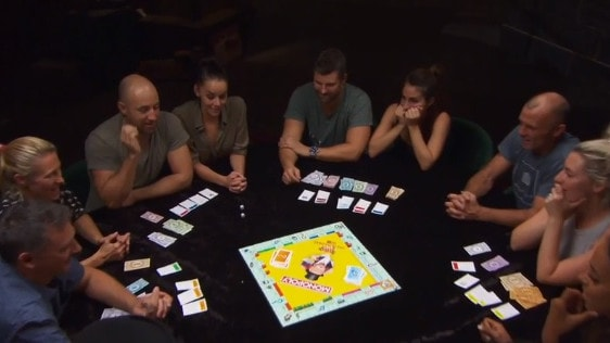 The contestants played the first ever game of Block Monopoly with $20,580 up for grabs. Source: The Block