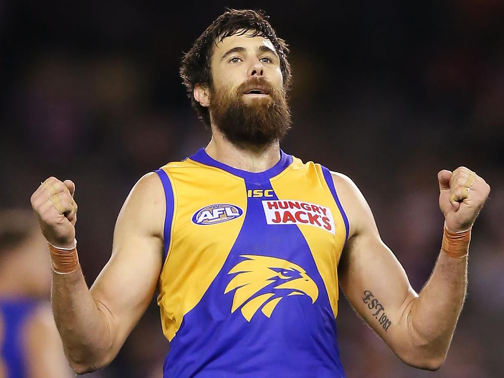 Josh Kennedy of the Eagles looks as fit as he's been in some time - is he a handy POD in SuperCoach AFL in 2020?