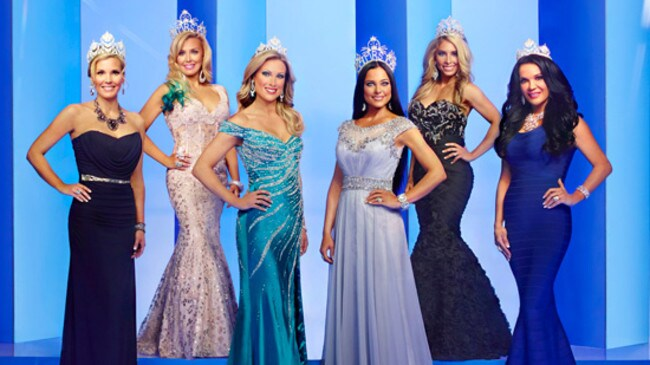Some of the women featured on the new US series 'Game of Crowns'. Photo: Bravo TV