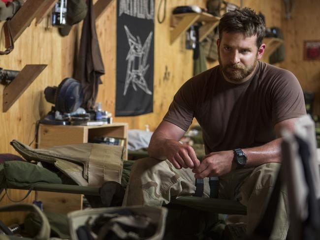 Winner ... 'American Sniper' starring Bradley Cooper has proved a box office smash taking home the big bucks. Picture: Warner Bros Pictures,