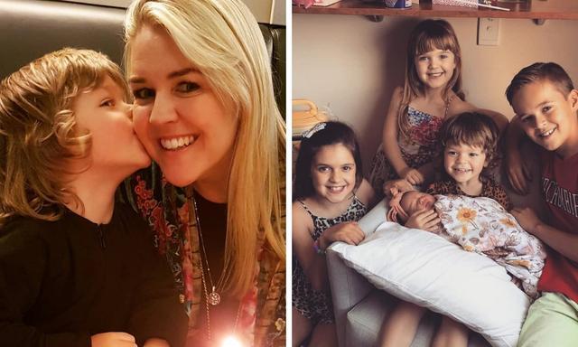 Lauren Newton: 'How I keep sane as a mum of five'