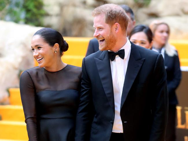 Prince Harry and Meghan, Duchess of Sussex. Picture: Getty