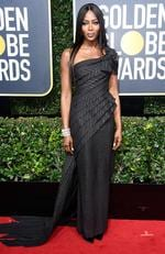 BEVERLY HILLS, CA - JANUARY 07: Model Naomi Campbell attends The 75th Annual Golden Globe Awards at The Beverly Hilton Hotel on January 7, 2018 in Beverly Hills, California. Picture: Frazer Harrison/Getty Images