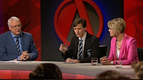 Q&A's high school special saw four students join two politicians to discuss a range of topics.