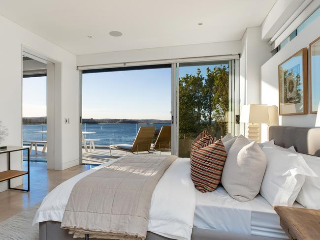 Wake up to stunning vistas of the water.
