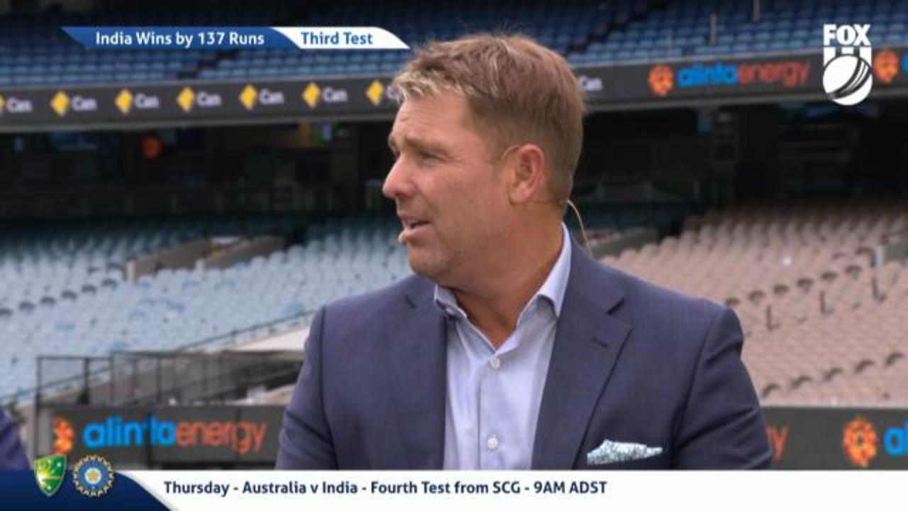 Warne drops a truth bomb on Aussie bowlers