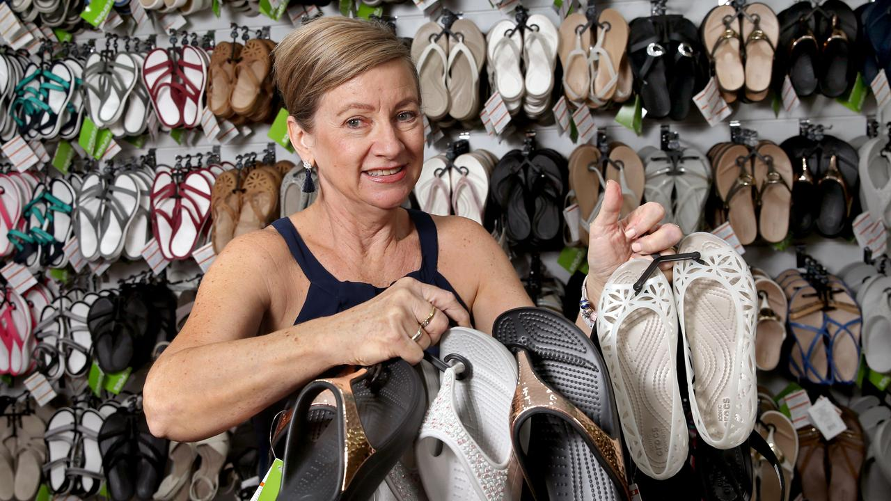 0a3380b23b92b Crocs shoes  Seller proves rubber footwear suitable for Cairns Performing  Arts Centre