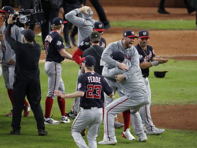 The Washington Nationals won Game 7 of the World Series 6-2, much to Mattress Mack's dismay.