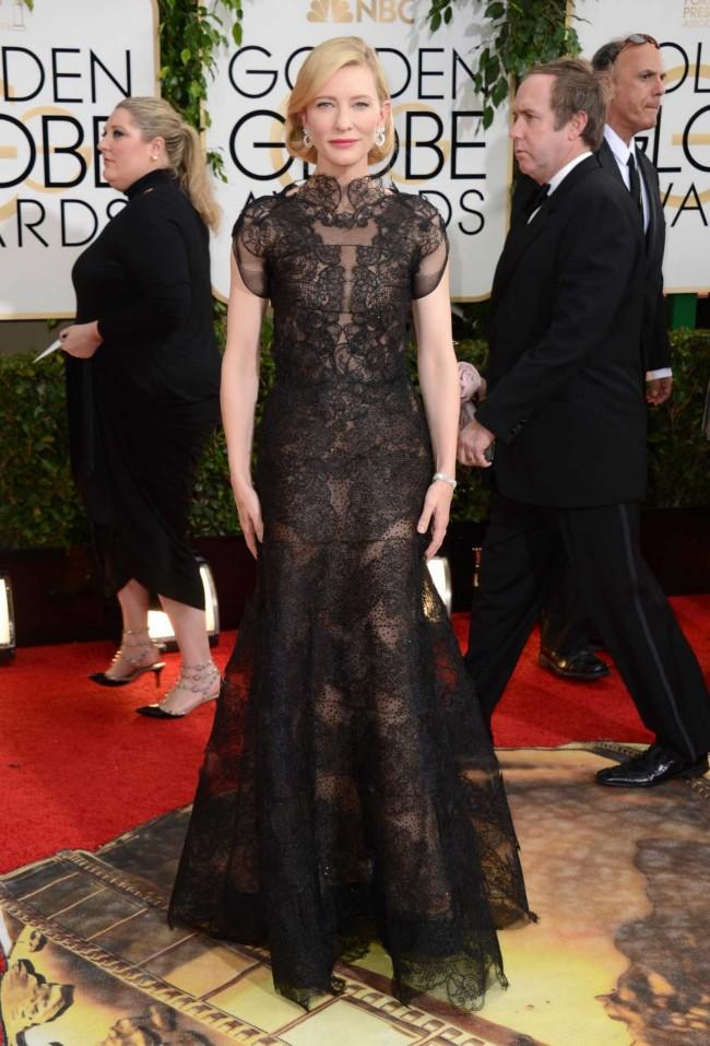 The Vogue Team Pick Their Favourite Golden Globes 2014 Red