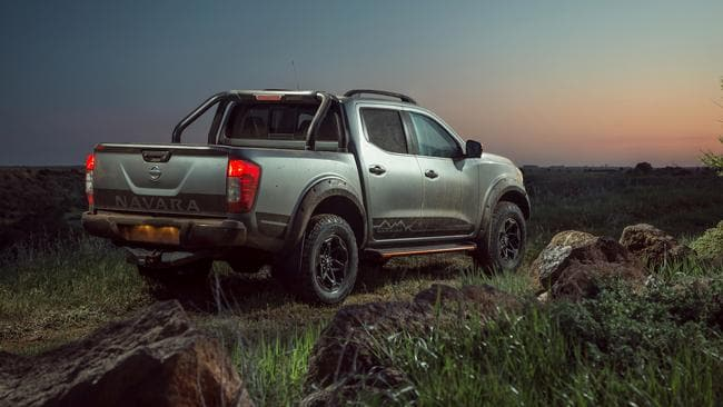 The Warrior is more capable off-road than the regular Navara.