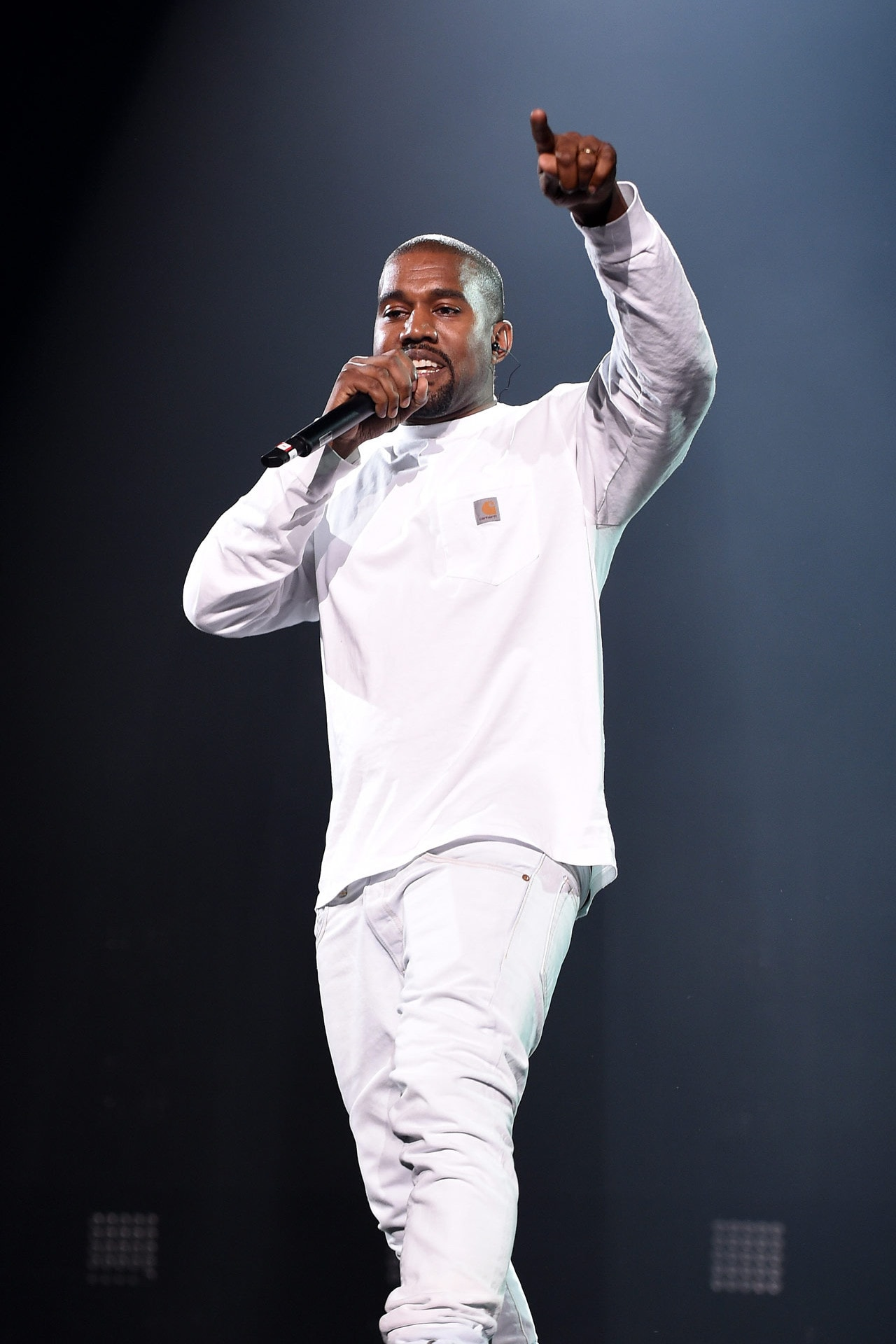Kanye West makes his return to social media