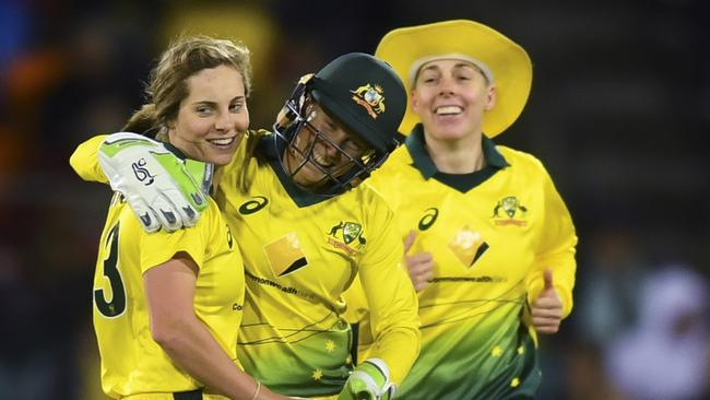 Our women's team should be used as a template for respect and success. Picture: AAP
