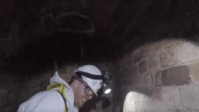 Fatberg Autopsy: Secrets Of The Sewers host Rick Edwards descends underground to film the documentary.