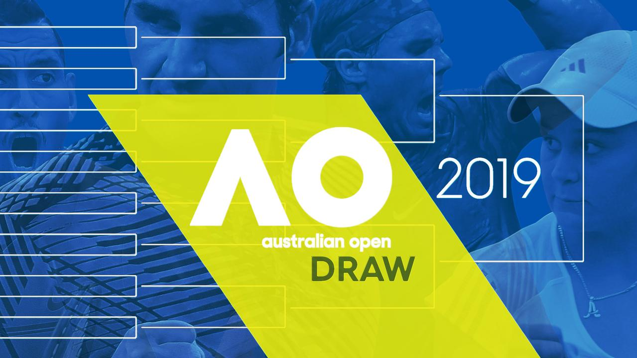 Australian Open 2019 Draw Men S Singles Draw Women S Singles Draw