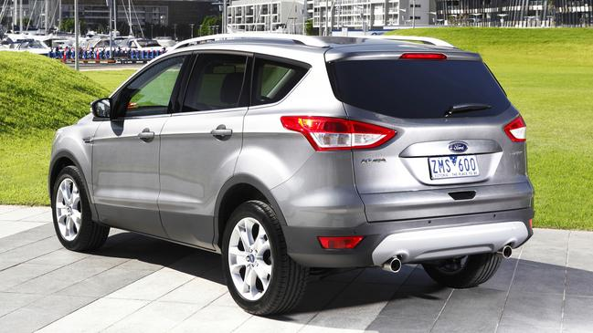 Kuga: SUV style and size favoured by families