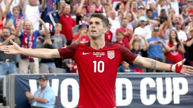 Christian Pulisic of the U.S. National Team.
