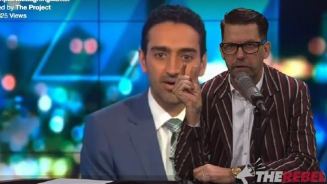 Gavin McInnes took aim at Waleed Aly's critique of Trump and the media.
