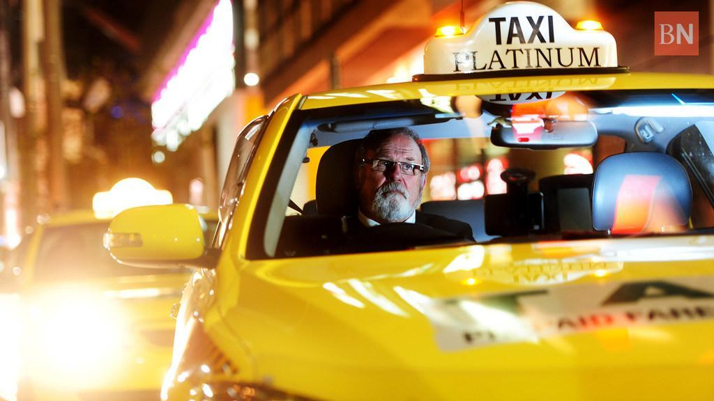 The taxi tax landing on your lap