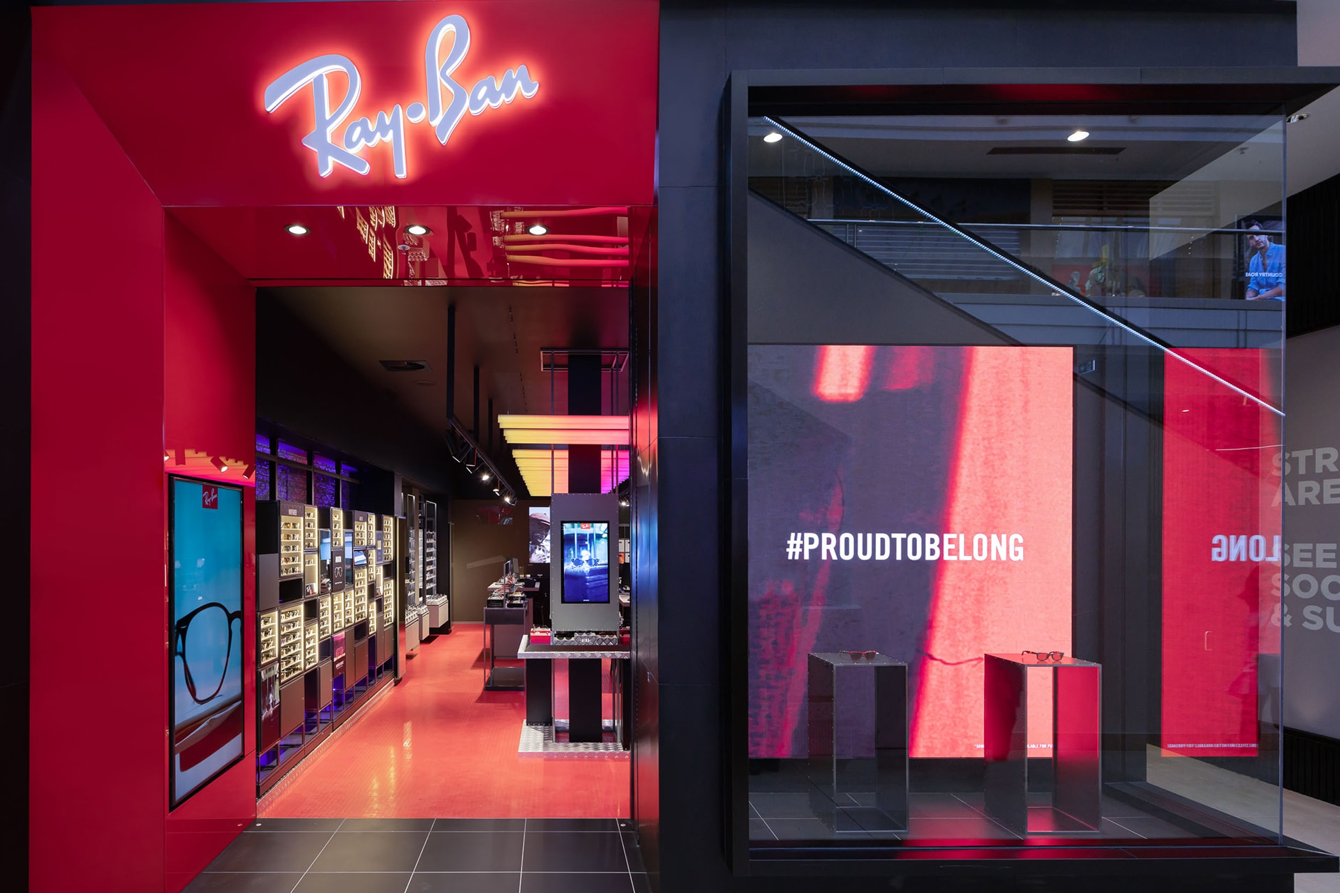 A Ray-Ban store with the biggest selection in the South Pacific has opened in Australia