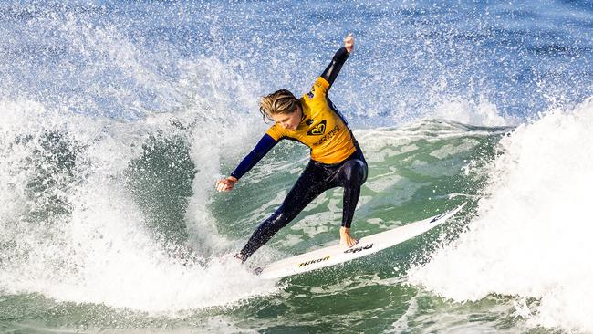 befdb6c42f Australia s Stephanie Gilmore knocked out of Roxy Pro France