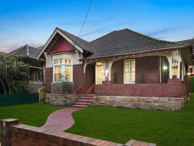 No. 16 Kingston St, Haberfield, sold after only seven days for a record price for a block of its size.