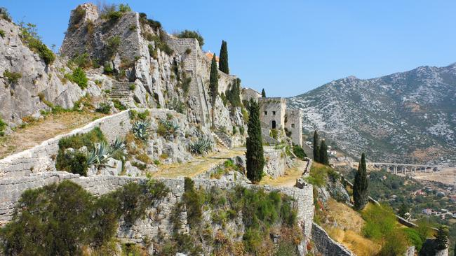 Long before it was known as the city of Meereen, the 2000-year-old medieval Klis fortress was one of Croatia's most famous historic symbols.