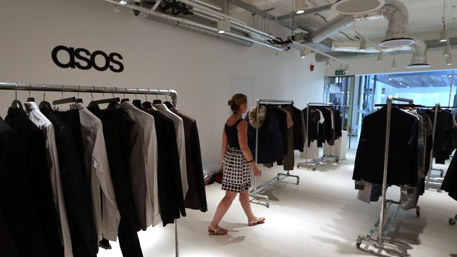Online retailer ASOS's name is a reference to a former website. Picture: Chris Ratcliffe/Bloomberg