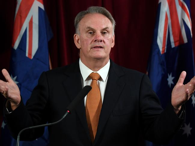 NSW One Nation leader Mark Latham wants DNA testing for indigenous identification. Picture: Joel Carrett/AAP