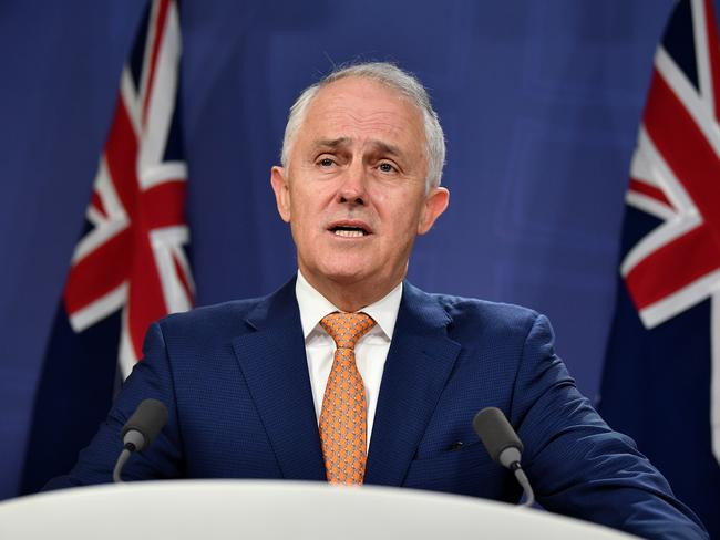 Australian Prime Minister Malcolm Turnbull fumes over citizenship audit claims. Picture: AAP