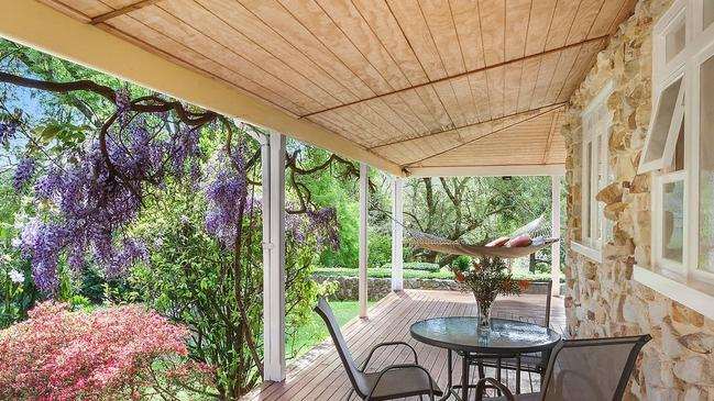 Charming wraparound veranda.