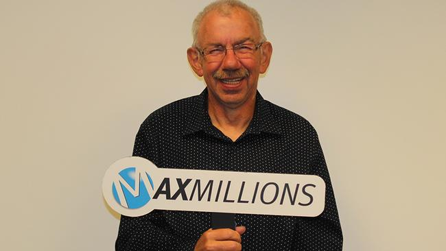 Cornelius Naujoks was a millionaire for nearly nine months — but didn't know it. Picture: Lotto Max