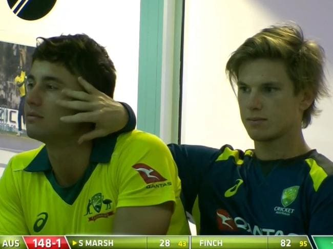 Adam Zampa and Marcus Stoinis left Justin Langer no choice.