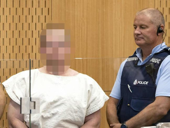 """Brenton Tarrant could be a """"marked man"""" in prison. Picture: AFP"""