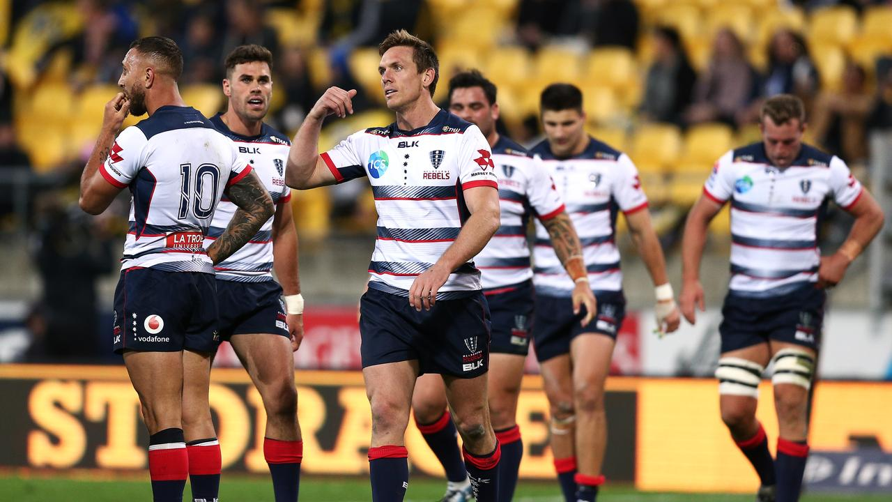 The Rebels got little pay out of a dominant scrum against the Hurricanes.